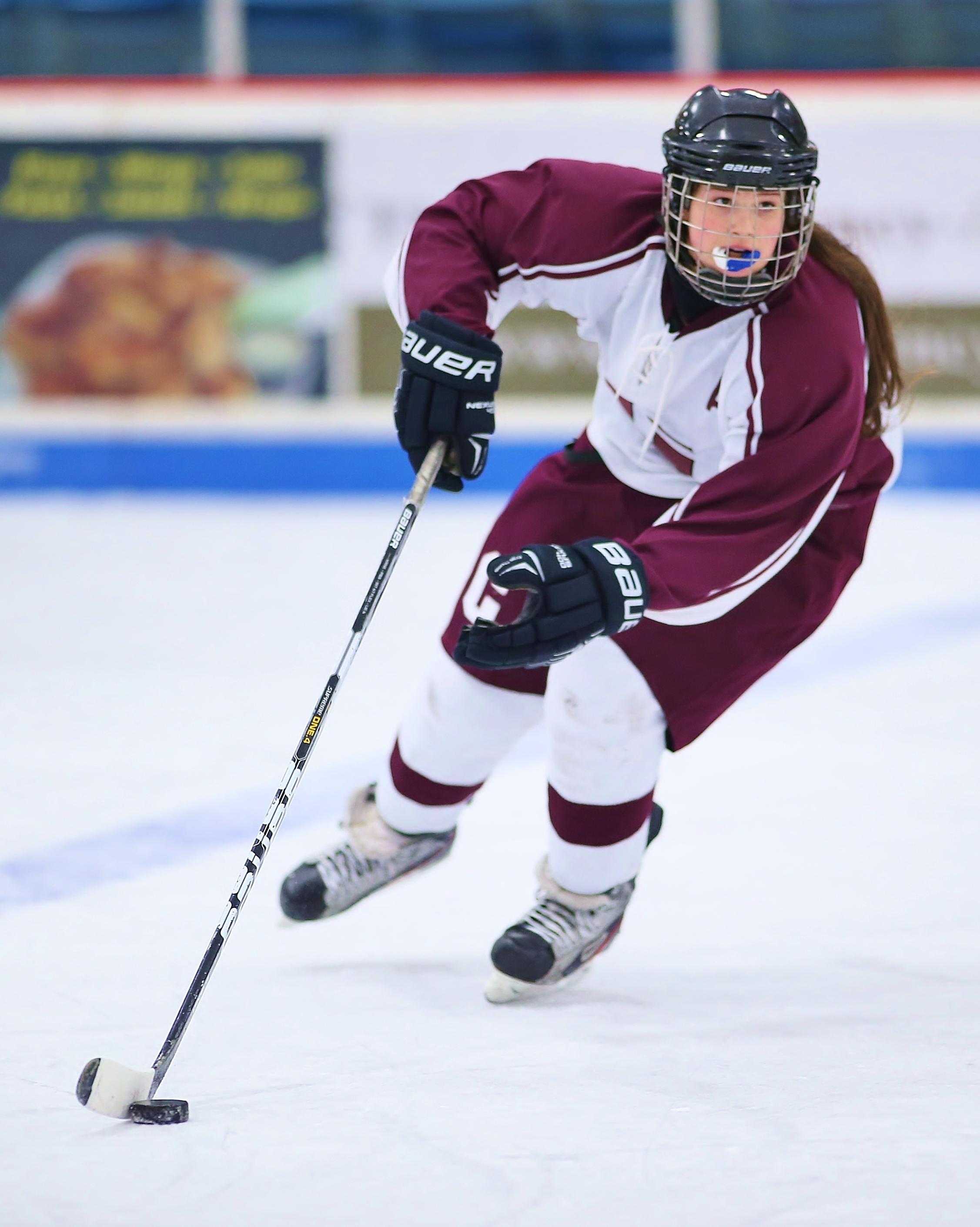 Clinton Girls Hockey V. Skan  X 2