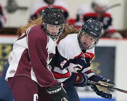Clinton vs. St.Lawrence Girls Hockey