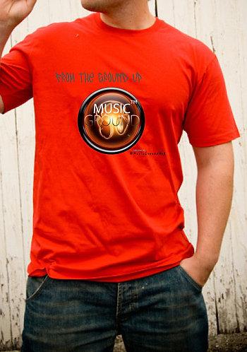 Music Ground T-Shirt Red
