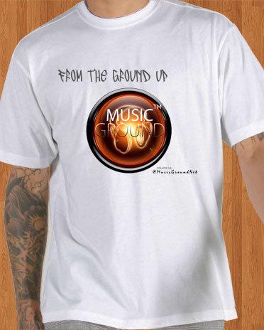Music Ground T-Shirt White