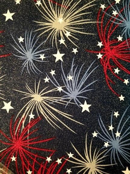 Patriotic Firework Pattern