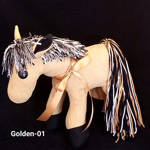 Golden Prayer Pony-01