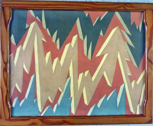 Mountain Tops & Crevasses