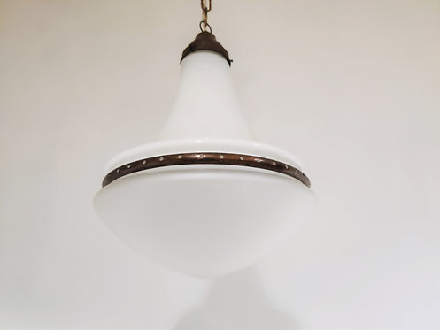 SOLD Luzette pendant light by Peter Behrens for Siemens, 1920s