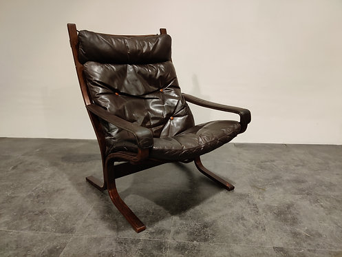 SOLD Mid century armchair by Ingmar Relling for Westnofa, 1970s