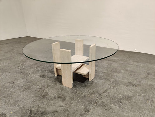 SOLD Willy Ballez coffee table, 1970s
