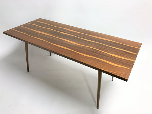 Vintage wooden coffee table, 1950s