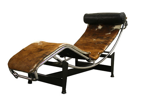 Mid century chaise longue attributed to Le Corbusier, 1980s