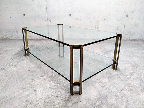 Two tier coffee table by Peter Ghyczy, 1970s