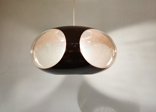 SOLD Space age 'bug eye' pendant light, 1960s