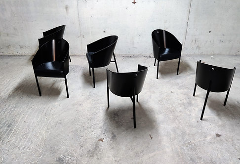 Vintage Costes Chairs by Philippe Starck for Driade, Set of 6
