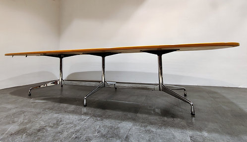 SOLD Charles & Ray Eames - vitra segmented Dining or conference table, 1990s