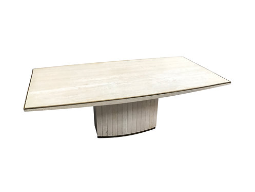 Vintage dining table by Willy Rizzo for Jean Charles, 1970s
