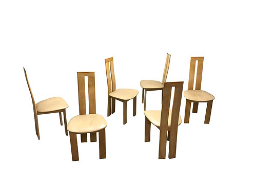 SOLD Dining chairs by Pietro costantini for Ello, 1970s, set of 6