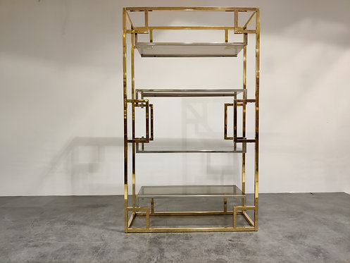 SOLD Vintage wall unit by Willy Rizzo, 1970s