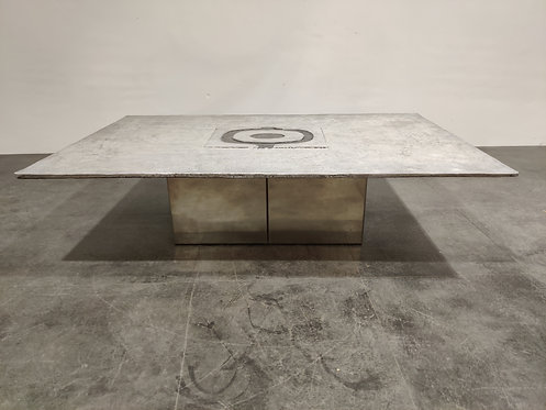 SOLD Vintage offee table by Willy Ceysens, 1970s