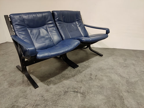 Two seater sofa by Ingmar Relling for Westnofa, 1970s