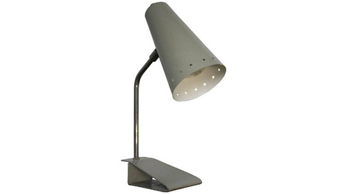 Grey Pinocchio Table Lamp By H.Th.A. Busquet For Hala Zeist