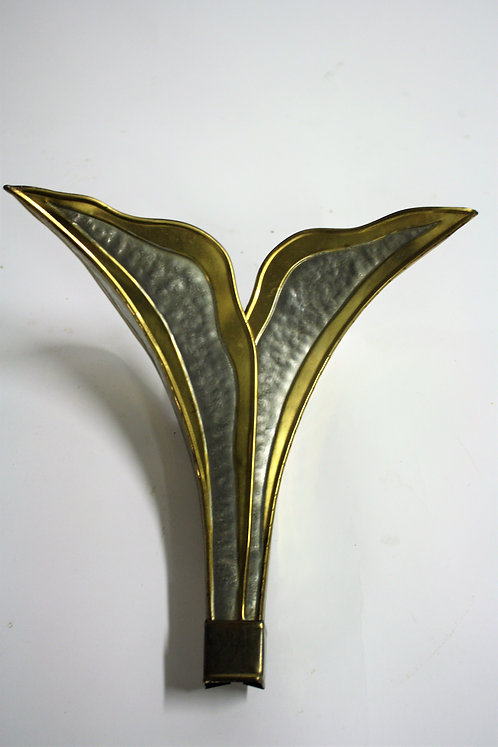 Vintage wall lamp by Isabelle & Richard Faure, 1970s