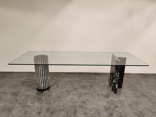 SOLD Antiquaria table by Adolfo Natalini for Up & up, 1970s