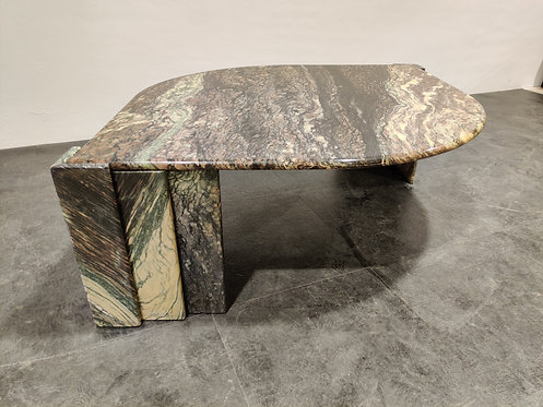 SOLD Marble Coffee Table, 1970s italy
