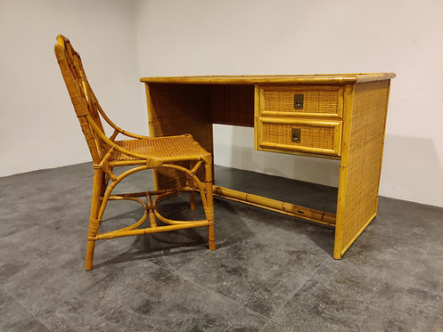 SOLD Vintage writing desk by dal Vera, 1960s