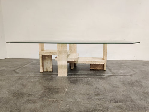SOLD Vintage coffee table by Willy Ballez, 1970s