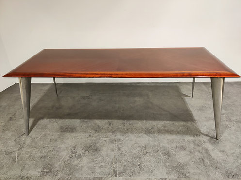 Dining table by Philippe Starck for Aleph - M Series, 1987
