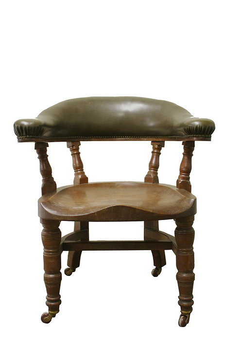 Early 20th century victorian desk chair