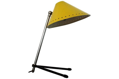 Yellow Herman Busquet For Hala Zeist Pinocchio Table Lamp