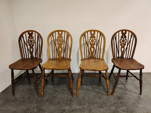 Set of 4 Vintage  Ercol Dining Chairs , 1950's