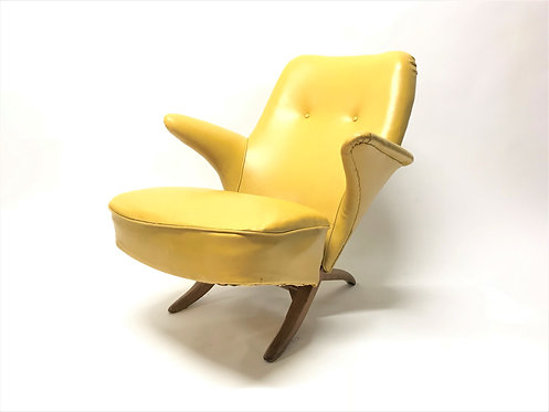 Penguin chair by Theo Ruth for artifort, 1960s
