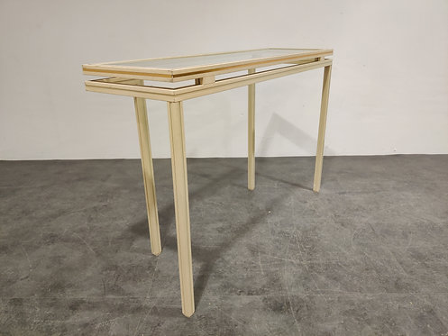 Console table by Pierre Vandel, 1980s