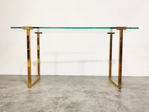 SOLD Console table by Peter Ghyczy, 1970s