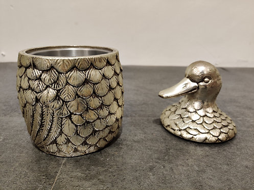 SOLD Vintage duck ice bucket by Mauro Manetti 1960s