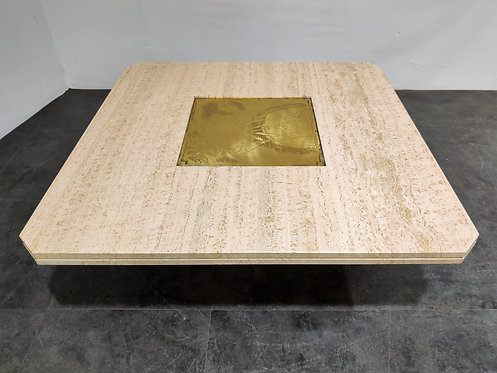 Sold Vintage coffee table by Georges Mathias, 1970s