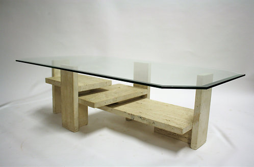 SOLD Vintage coffee table by Willy Ballez, 1970s -