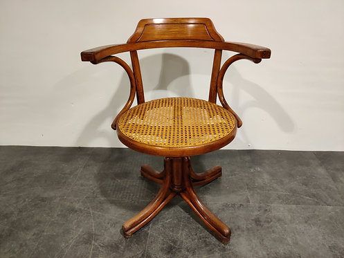 SOLD Desk chair by Thonet, 1920s