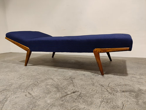 SOLD Mid century teak daybed, 1960s