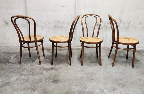 SOLD Dining Chairs by ZPM Radomsko, 1950s