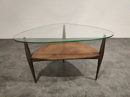 SOLD Coffee table by Alfred Hendrickx, 1950s