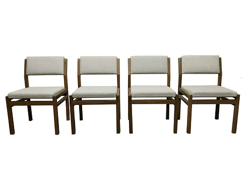 Set of 4 vintage dining chairs by Cees Braakman for Pastoe (model SA07)