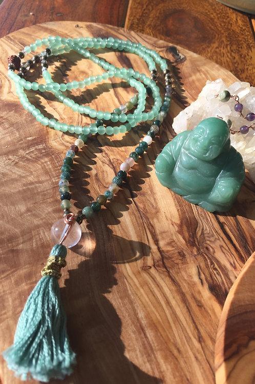 Confidence & Harmony: Mini Mala Necklace