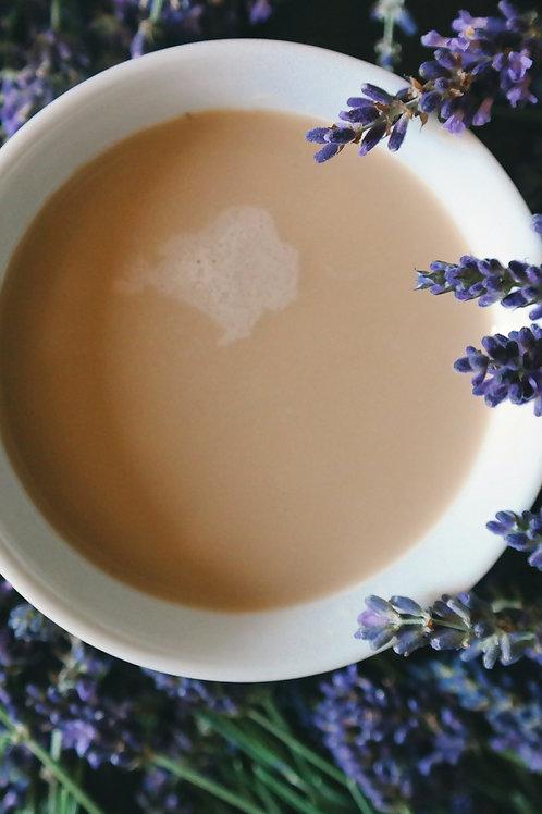 Add Organic Lavender flowers to your bath salts