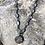 Thumbnail: Rainbow Moonstone chain and Pewter Lotus Charm