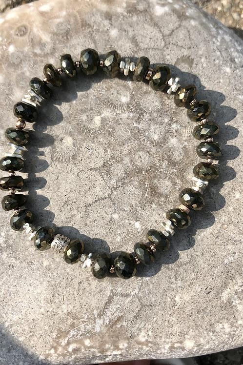 Rebirth: Bronze Spinel Bracelet