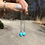 Thumbnail: Sleeping Beauty Turquoise chain earrings