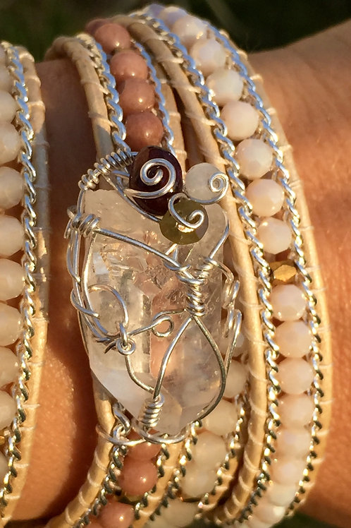 Record Keeper Bead Wrap Wrist Amulet: Dreams