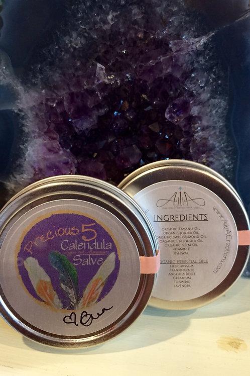 Precious 5 Organic Calendula Salve (2 ounces)
