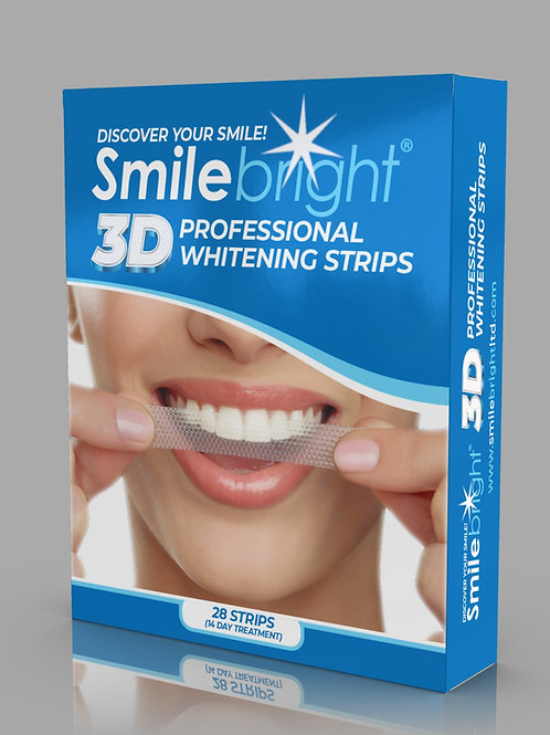 3D  Professional Whitening Strips